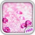 Shiny Diamonds Live Wallpaper icon