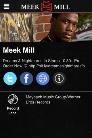 【免費音樂App】Meek Mill-APP點子