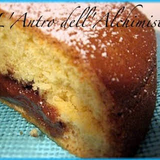 Nutella and Mascarpone Cheese Cake.