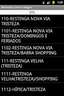 MovelBus Porto Alegre- screenshot thumbnail