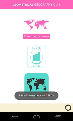 【免費益智App】Geometrical Geography Quiz-APP點子