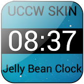 Jelly Bean Clock Widget Donate