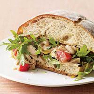 Tuna, White Bean and Arugula Sandwiches