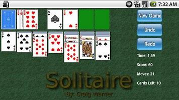 Screenshot of 1-Click Solitaire
