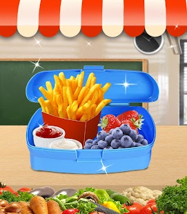 School Lunch Mania - Box Maker