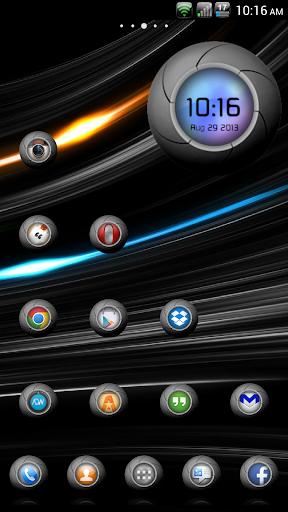 TechOrb Icons Holo Nova ADW