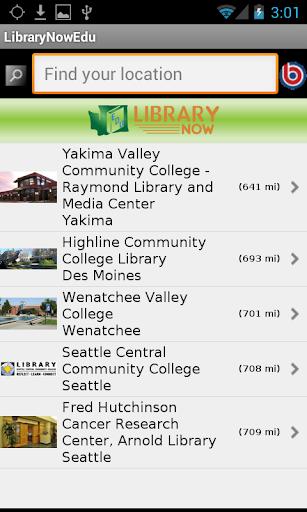 LibraryNow - WA Academic Libs