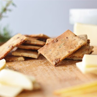 Savory and Sweet Crackers (with Almond Flour)
