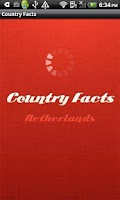 Screenshot of Country Facts Netherlands