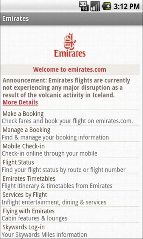 Ticket & Flight Airlines - screenshot