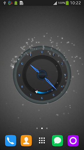 Top Clock Live Wallpaper