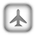 Switching airplane mode logo