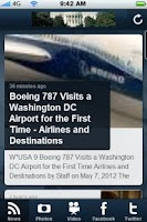 Screenshot of DC Daily