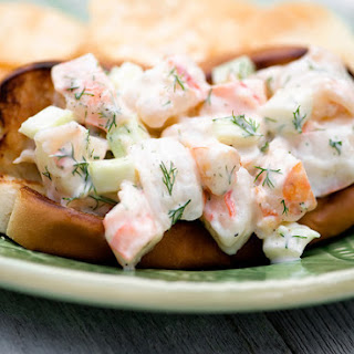 Grilled Shrimp Rolls