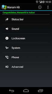 Wanam Kit (Xposed) - screenshot thumbnail