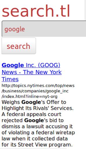 Searchengine - Web Search