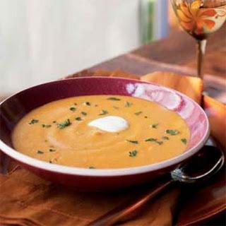 Spiked Pumpkin Soup.