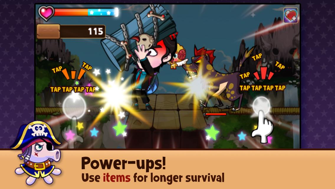 Jungle Man: Strike - screenshot