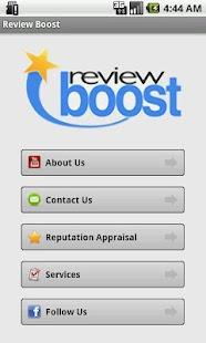Review Boost - screenshot thumbnail