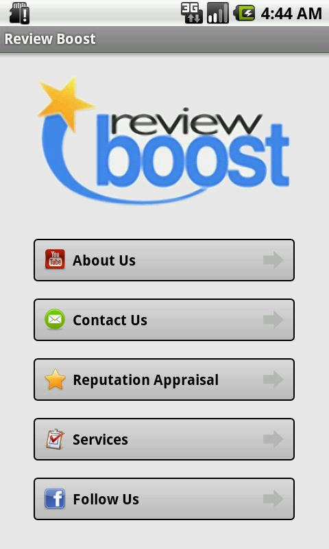 Review Boost - screenshot