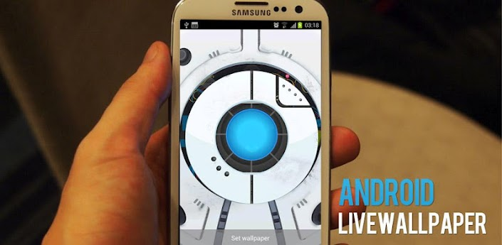 Space Robot LiveWallpaper apk