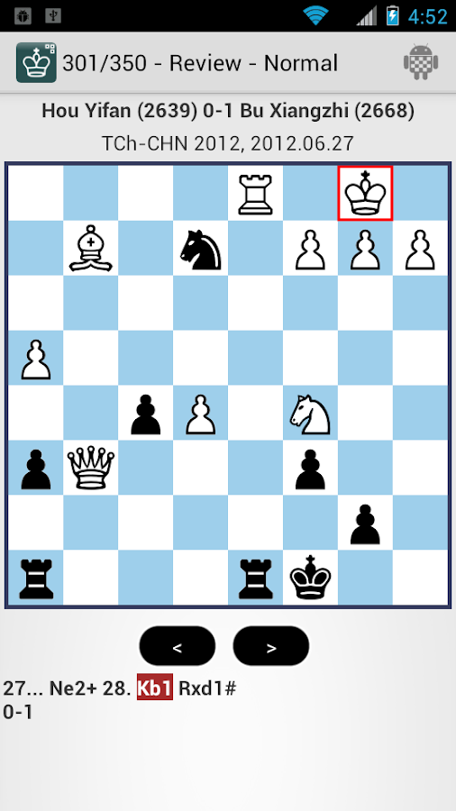 Chess Puzzles - iChess - screenshot