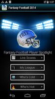Screenshot of Fantasy Football -Hide My Text