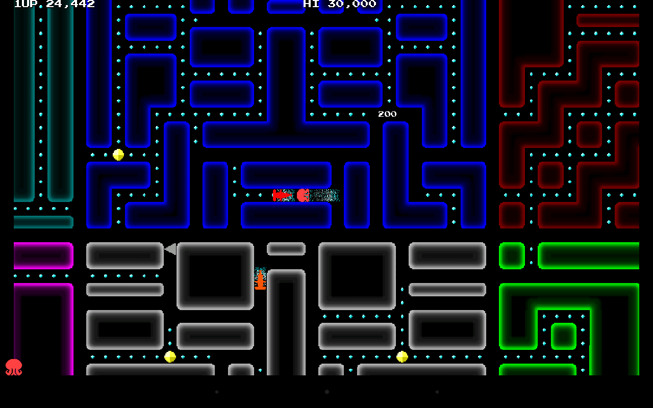 Octropolis - Arcade Maze Game- screenshot
