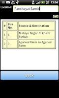 Screenshot of Jaipur Bus Info