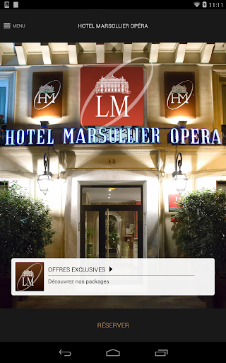 Hotel Louvre Marsollier Opéra