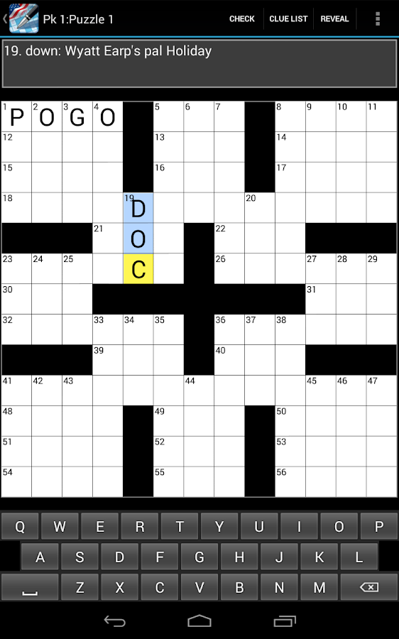 Crossword (US)- screenshot