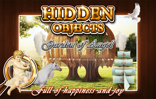 Hidden Object - Angel Garden