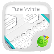 App Pure White GO Keyboard Theme APK for Windows Phone