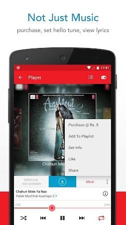Wynk Music: Hindi & Eng songs 1.3.2.4 screenshot 378163