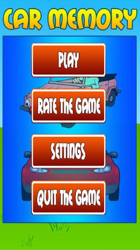 Cars Memory Game For Kids:Qnax