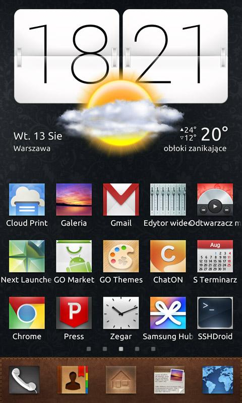 RectaN ADW Apex Nova Go Theme- screenshot