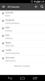 Zoho Vault - Password Manager - screenshot thumbnail