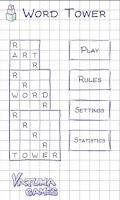 Screenshot of Word Tower (word game)