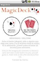 Screenshot of Magic Deck