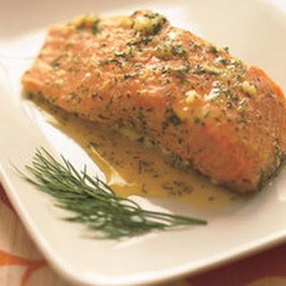Garlic-Dill Salmon.