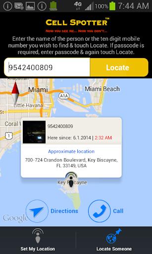 【免費通訊App】CellSpotter GPS Location Share-APP點子