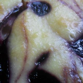 Black Raspberry Swirl White Chocolate Cheesecake Recipe