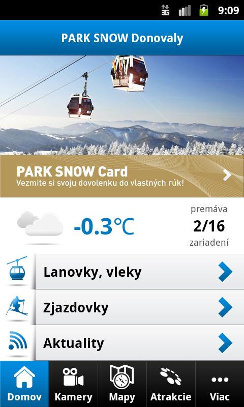 PARK SNOW Donovaly - screenshot