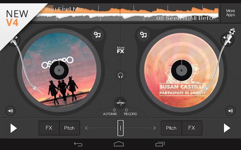 android edjing 5 free DJ musique mixer Screenshot 5