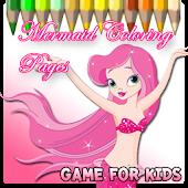 Princess  Mermaid Coloring