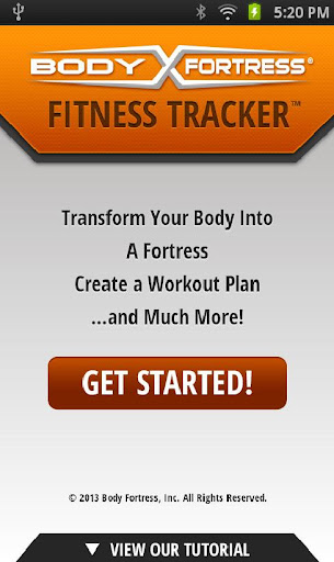 Bodyfortress Fitness Tracker