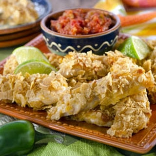 Chipotle-Lime Crusted Chicken Tenders.
