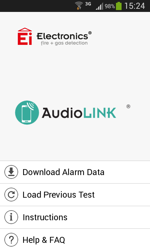 Aico AudioLINK- screenshot