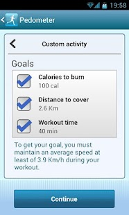 Smart Pedometer - screenshot thumbnail