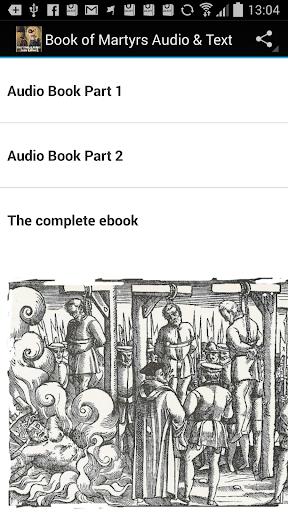 Book of Martyrs Audio eBook